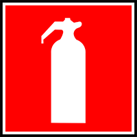 Make sure you have a proper functioning fire extinguisher