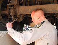 dot brake inspection