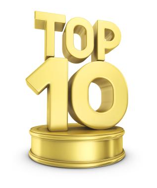 BigRoad Top 10 List