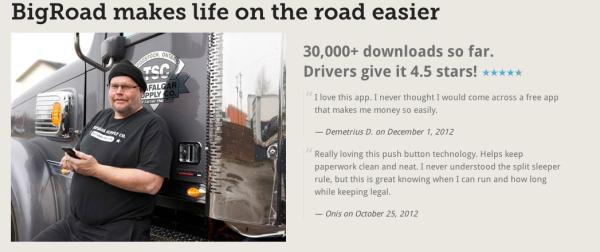 BigRoad Drivers eLogs