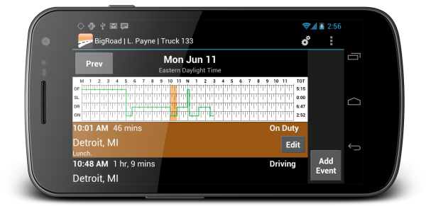Electronic driver logs: compliance should be easy