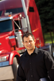 Smartphone trucker apps easily adopted by younger truck drivers
