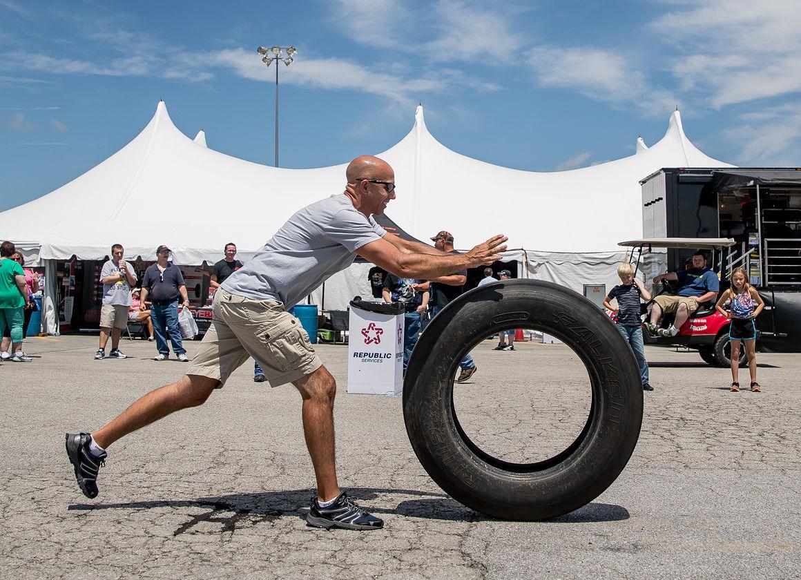 Trucker Olympics