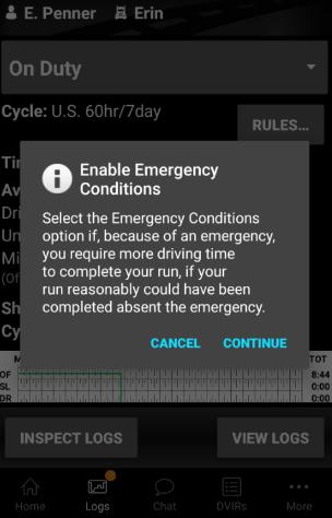 BigRoad mobile app 10.