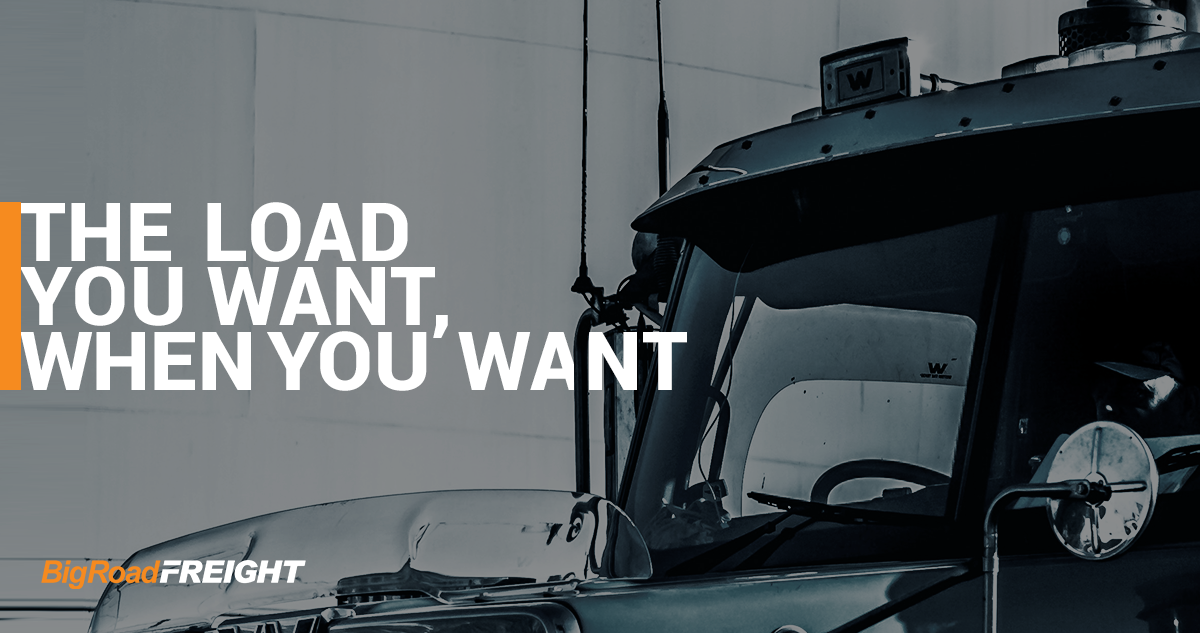 BigRoad Freight - The Loads You Want When You Want Them