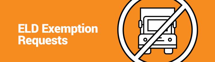 ELD Exemption Requests
