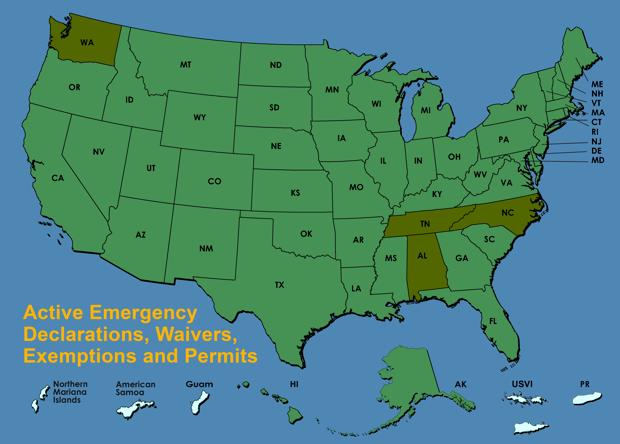 Exemption map.