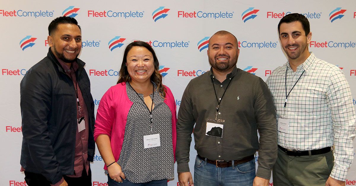 Utena Yokoshima with her Sales Team