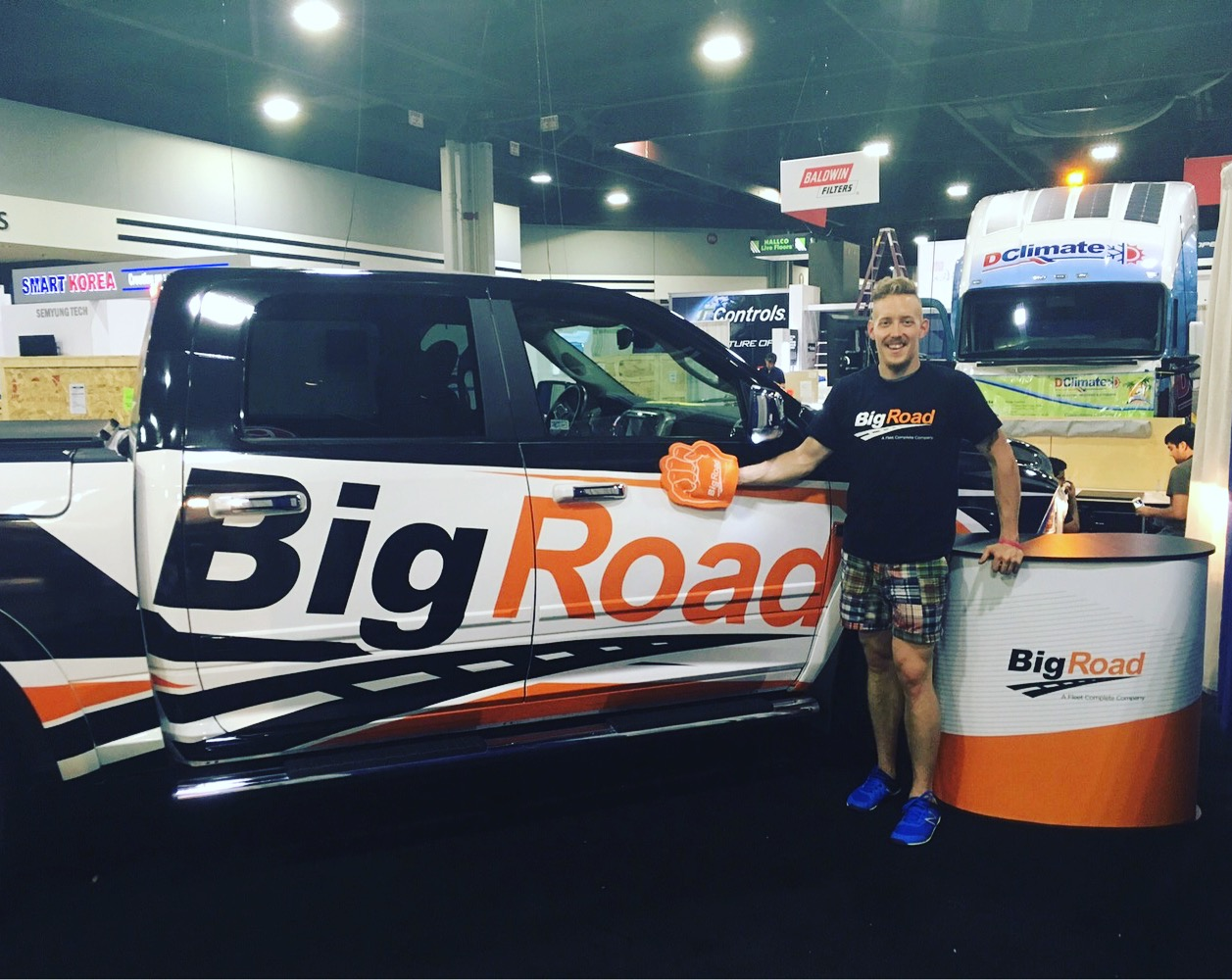 BigRoad at the North American Commercial Vehicle Show