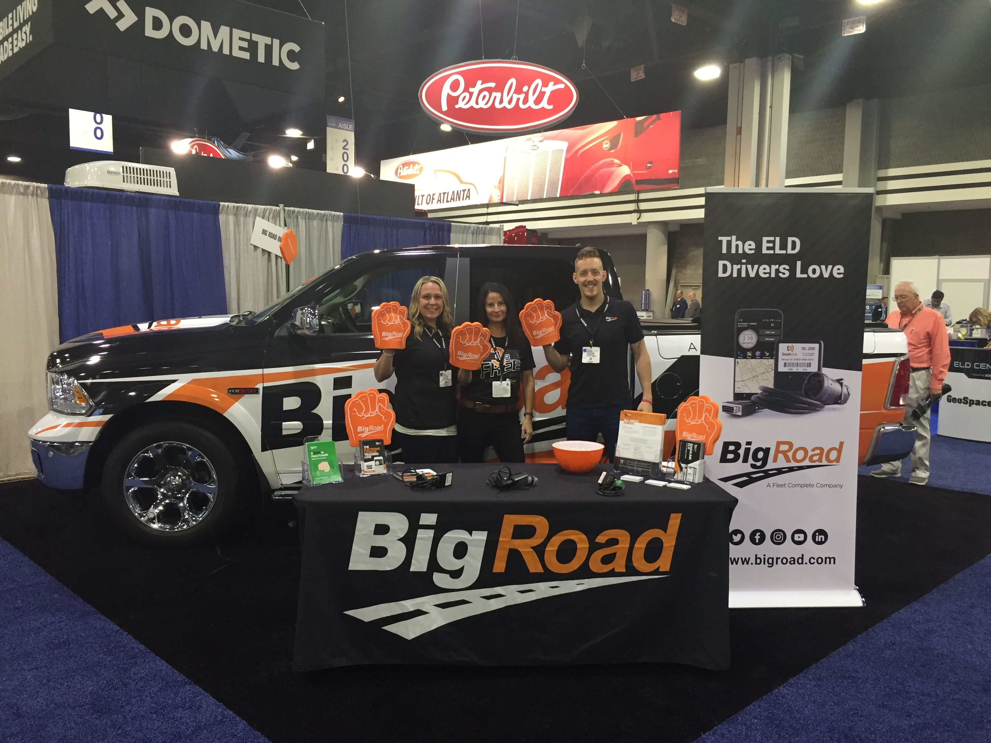 BigRoad Booth