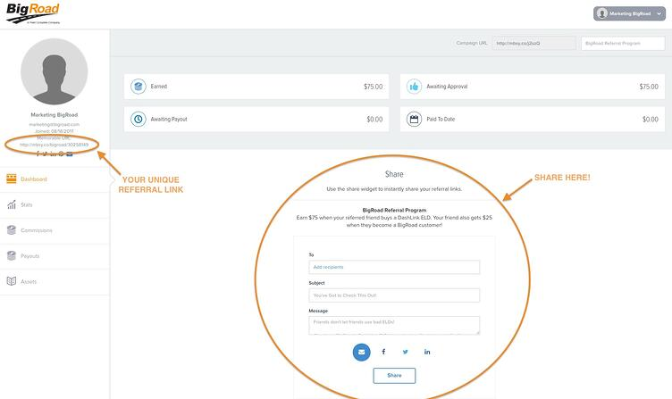 Referral Portal Sharing Steps Outlined