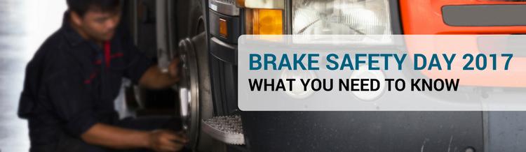 Brake Safety Day Blog Banner