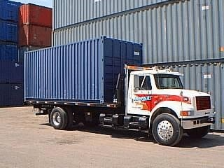 container truck.