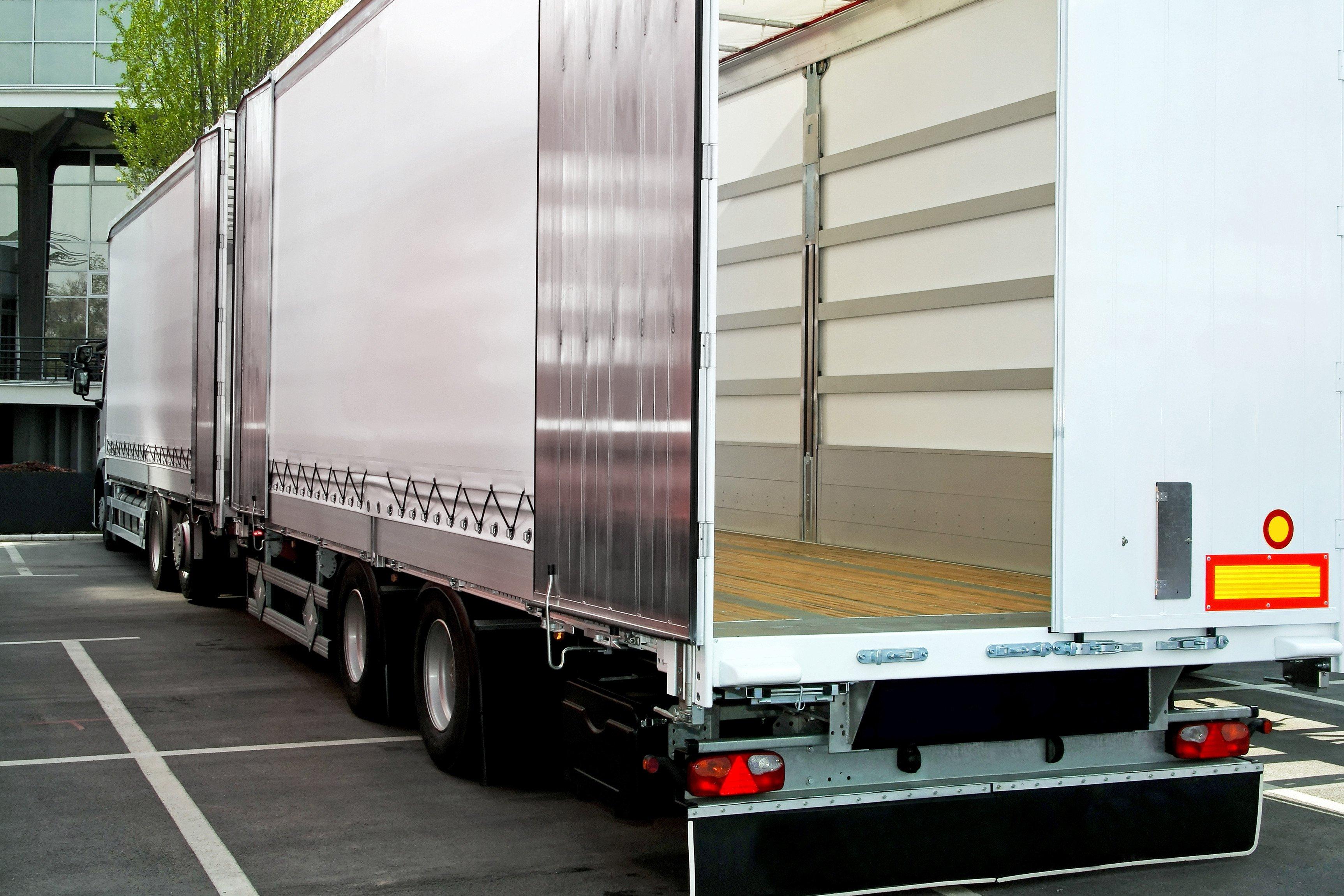 empty truck