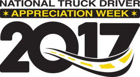 National Truck Driver Appreciation Week 2017 Logo