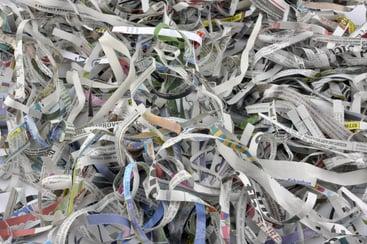 Shredded Paper Logs