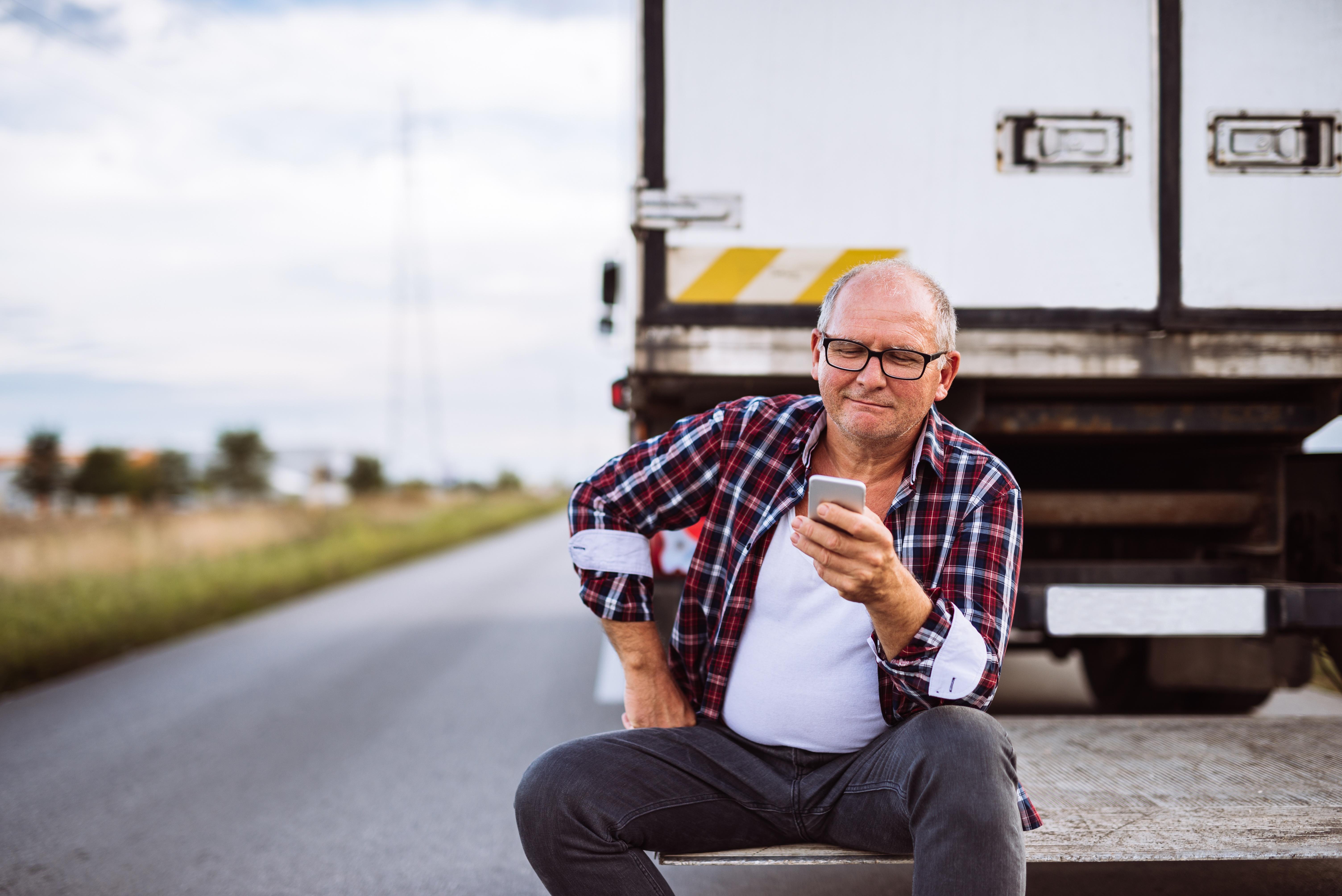 rental truck driver