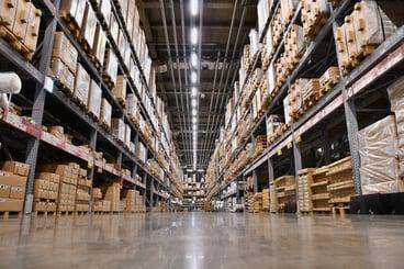 Warehouse stocking ELDs