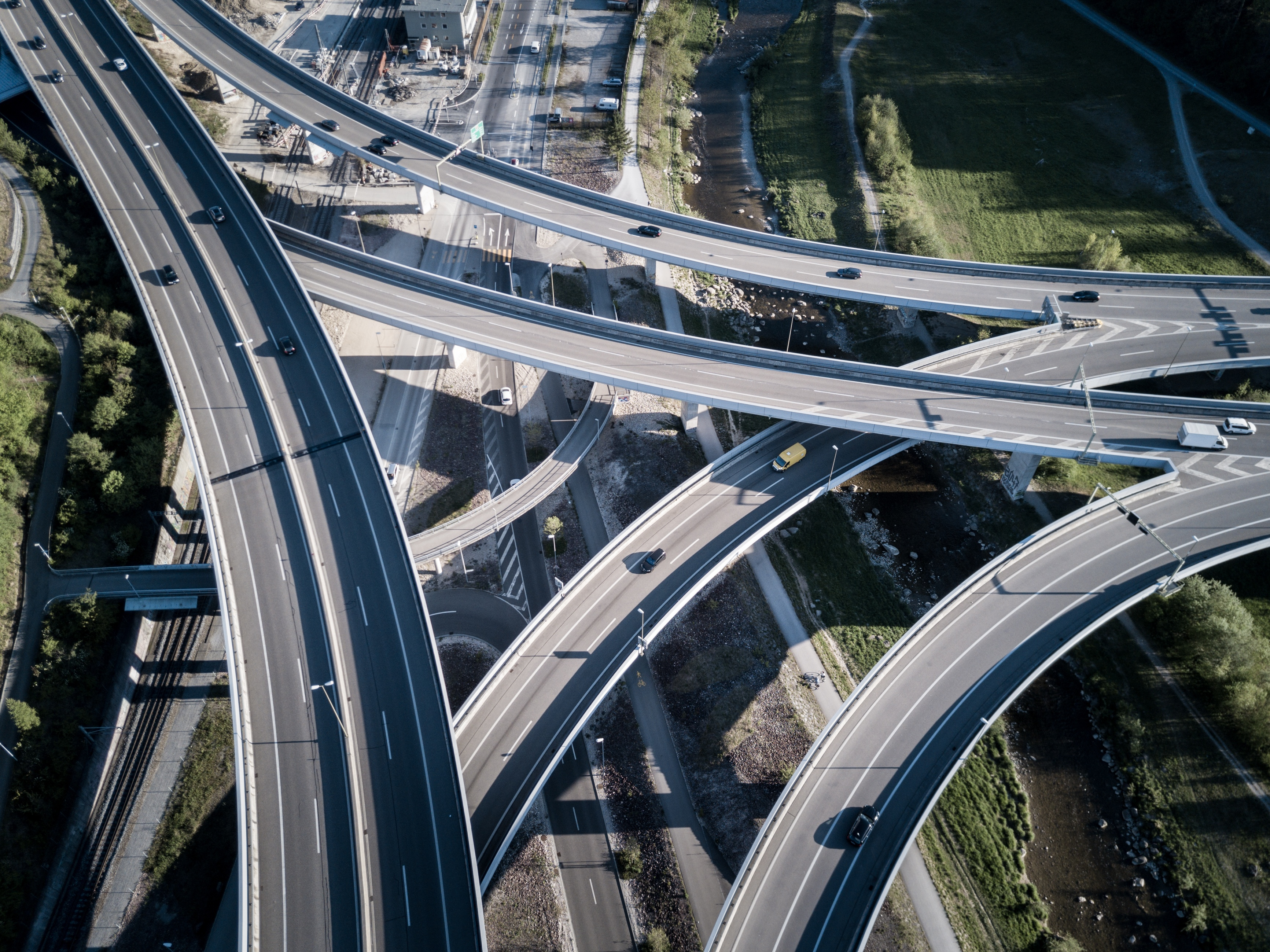 Ariel View of the Highway
