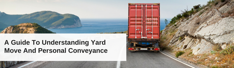 A Guide To Understanding Yard Move And Personal Conveyance