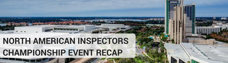 North American Inspectors Championship Event Recap