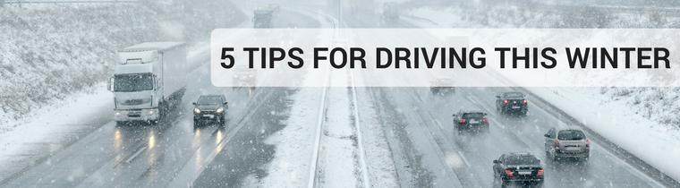 5 Tips for Driving This Winter
