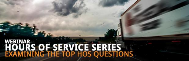 HOS Webinar Series: Examining the Top HOS Questions