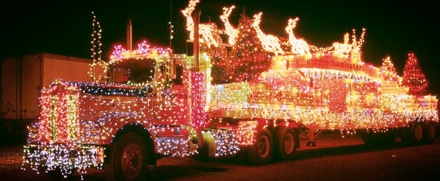 Santa Claus is Comin' to Town (in a Big Rig)