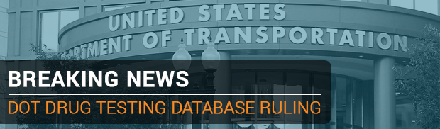 FMCSA Publishes Final Ruling on Drug Testing Database