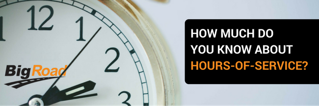 How Much Do You Know About Hours-of service (HOS)?Webinar Recap
