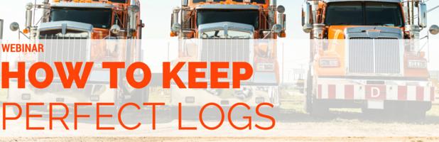 How to Keep Perfect Logs Webinar Recap