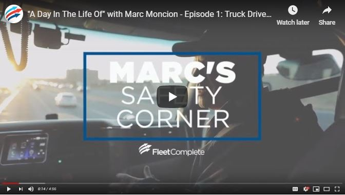 Marcs ride along video.