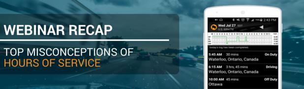 Top Misconceptions of Hours of Service Webinar Recap