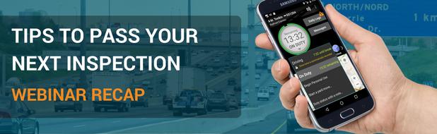 Tips to Pass Your Next Inspection Webinar Recap