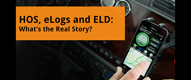 HOS, eLogs and ELD: What's the Real Story?