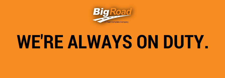 BigRoad Ready to Help ONE20 ELD Customers