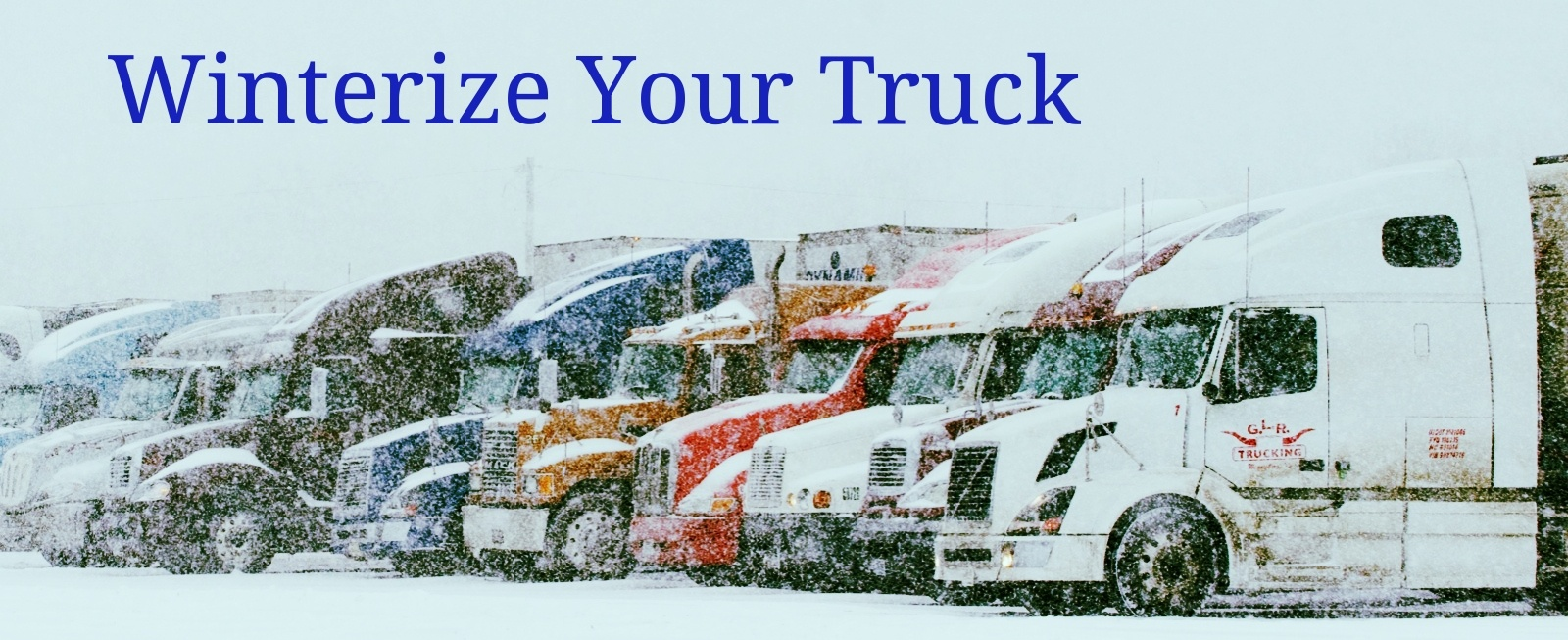 How to Winterize Your Truck